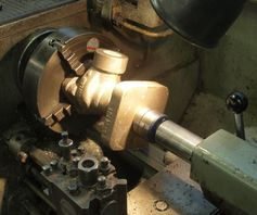 Klinger valves being machined in 2018